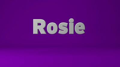 Rosie VO Sample