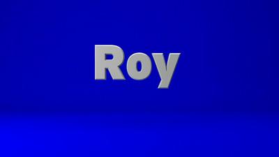 Roy VO Sample