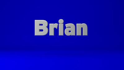 Brian VO Sample