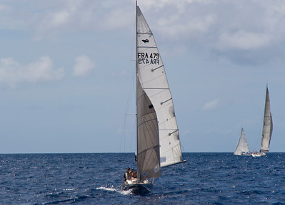 Voiles de St. Barths Regatta 2012 - Day 3 RACE BOATS