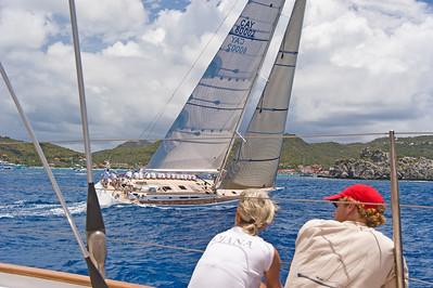 Voiles de St  Barths 2012 Race 3 Boat Sojana_3185
