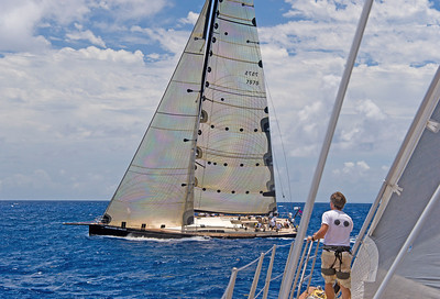 Voiles de St  Barths 2012 Race 3 Boat Sojana_3240