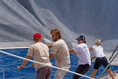 Voiles de St  Barths 2012 Race 3 Boat Sojana_3131