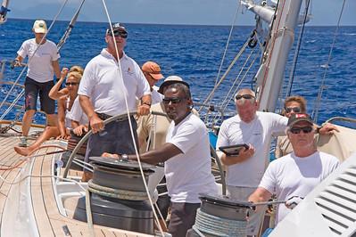 Voiles de St  Barths 2012 Race 3 Boat Sojana_3063