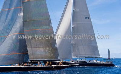 Voiles de St  Barths 2012 Race day 4 boat Sojana_3548