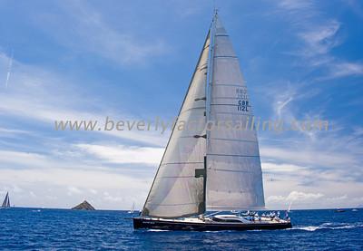 Voiles de St  Barths 2012 Race day 4 boat Sojana_3522