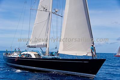 Voiles de St  Barths 2012 Race day 4 boat Sojana_3536