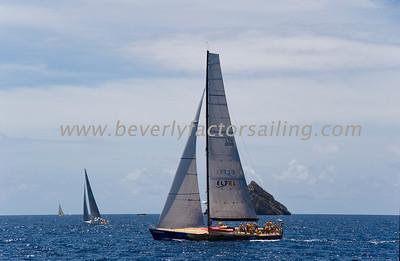 Voiles de St  Barths 2012 Race day 4 boat Sojana_3504