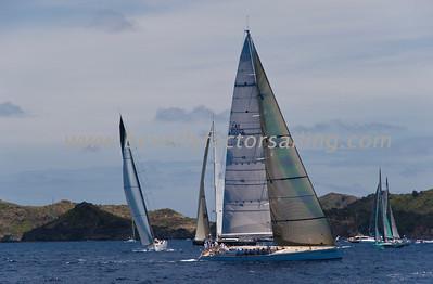 Voiles de St  Barths 2012 Race day 4 boat Sojana_3531