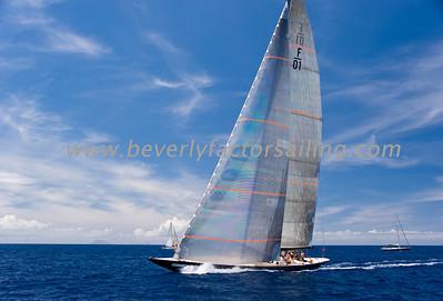 Voiles de St  Barths 2012 Race day 4 boat Sojana_3528