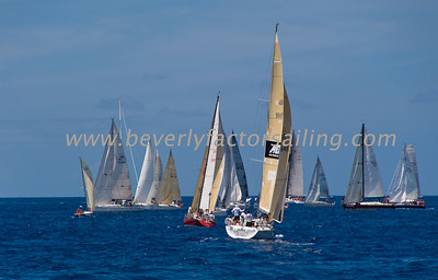 Voiles de St  Barths 2012 Race day 4 boat Sojana_3500