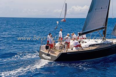 Voiles de St  Barths 2012 Race day 4 boat Sojana_3506