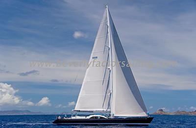 Voiles de St  Barths 2012 Race day 4 boat Sojana_3534