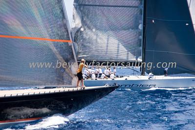 Voiles de St  Barths 2012 Race day 4 boat Sojana_3541