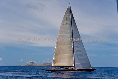 Voiles de St  Barths 2012 Race day 4 boat Sojana_3532