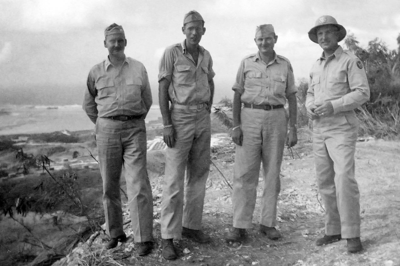 Guam, 1946 With Friends