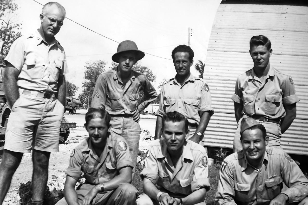 In Harmon Field, Guam. 1946