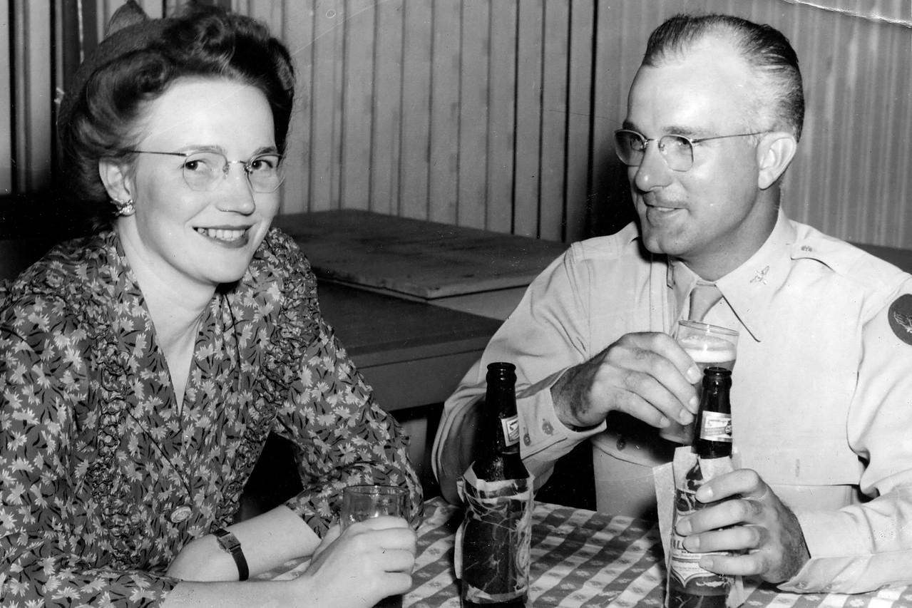 At Night Club in Waco, TX. 1944