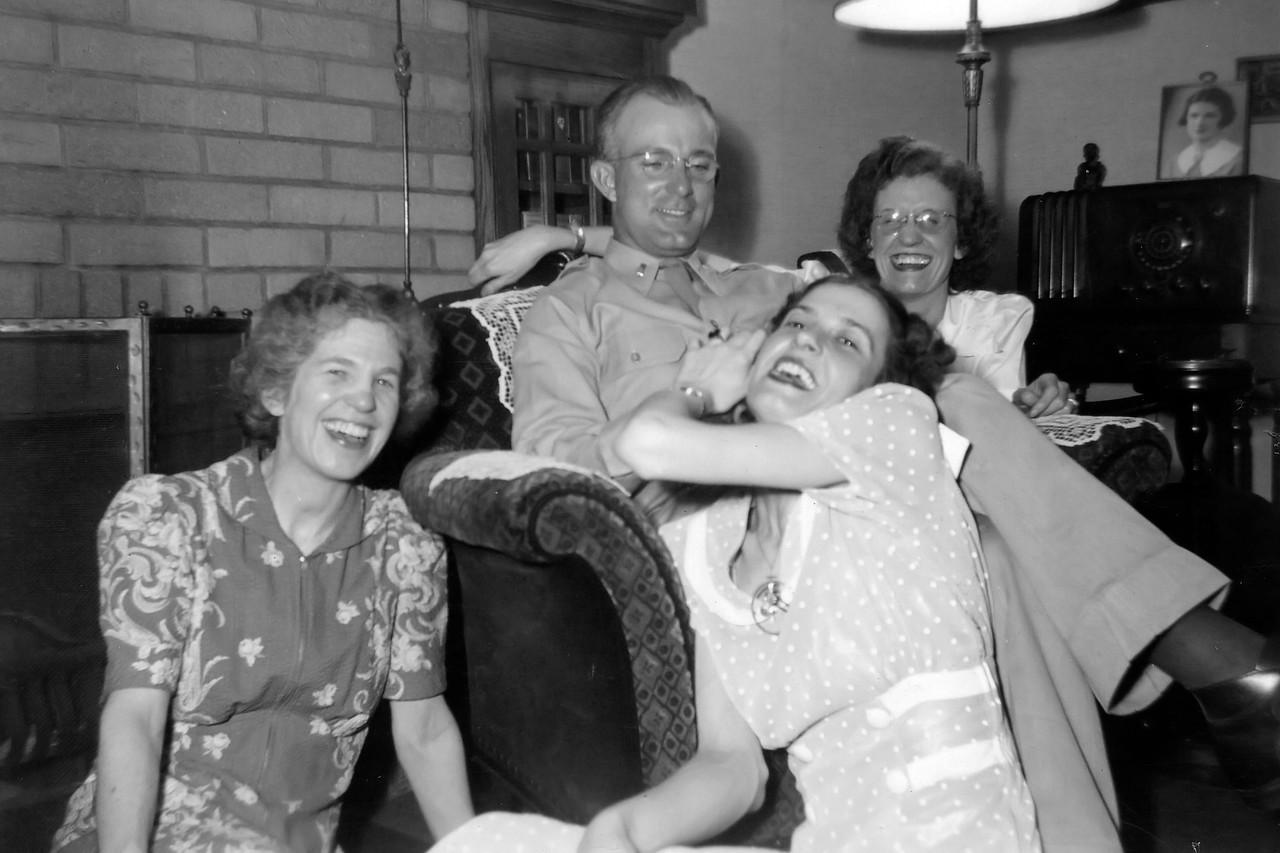 At Galesburg, 1943