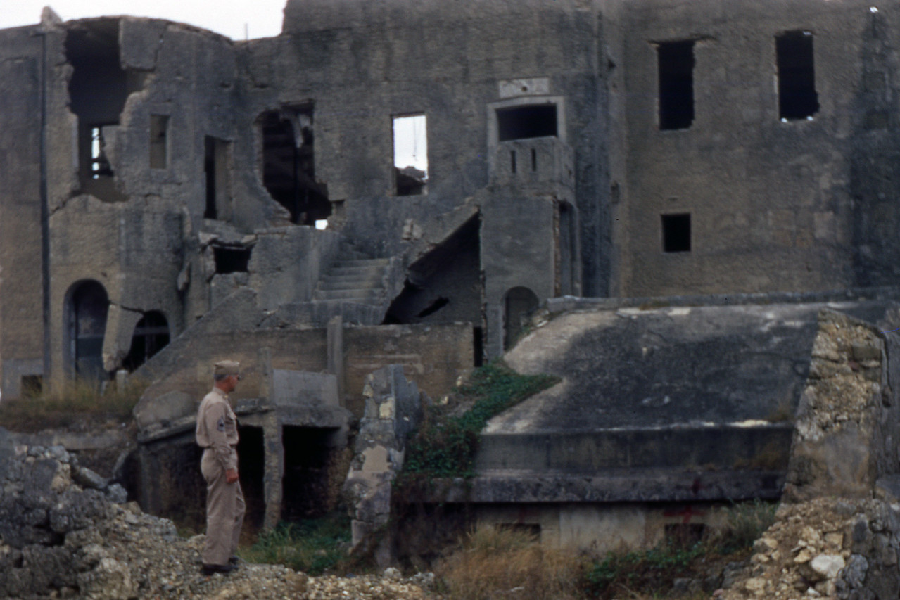 Exploring Bombed Areas