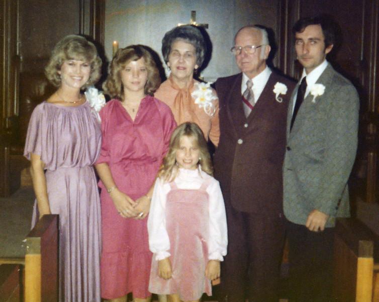 Wedding Ceremony, Family Members