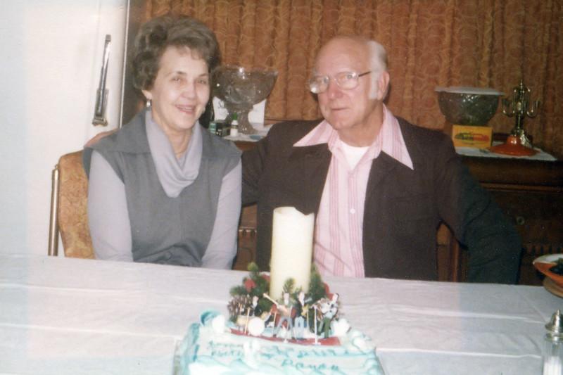 Faye and Dad at Lake House
