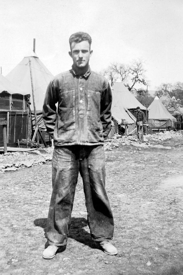 At Camp Bullis, 1929