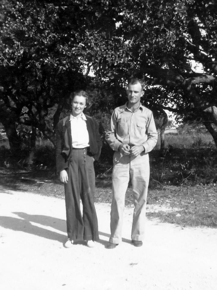With First Wife Elizabeth, 1936