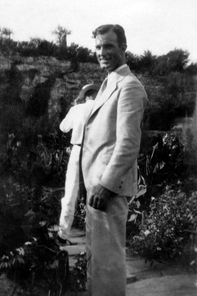 At San Antonio Park, about 1930