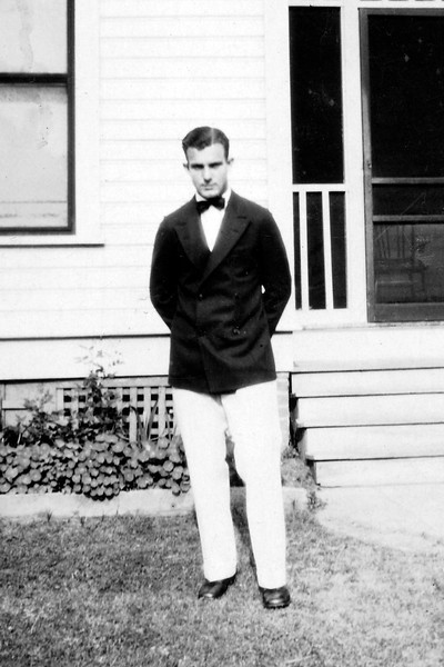 At Home Before Graduation, 1928
