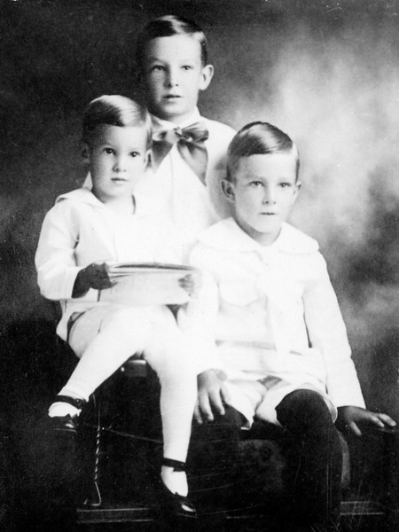 Young Walter, Eugene, and Byron