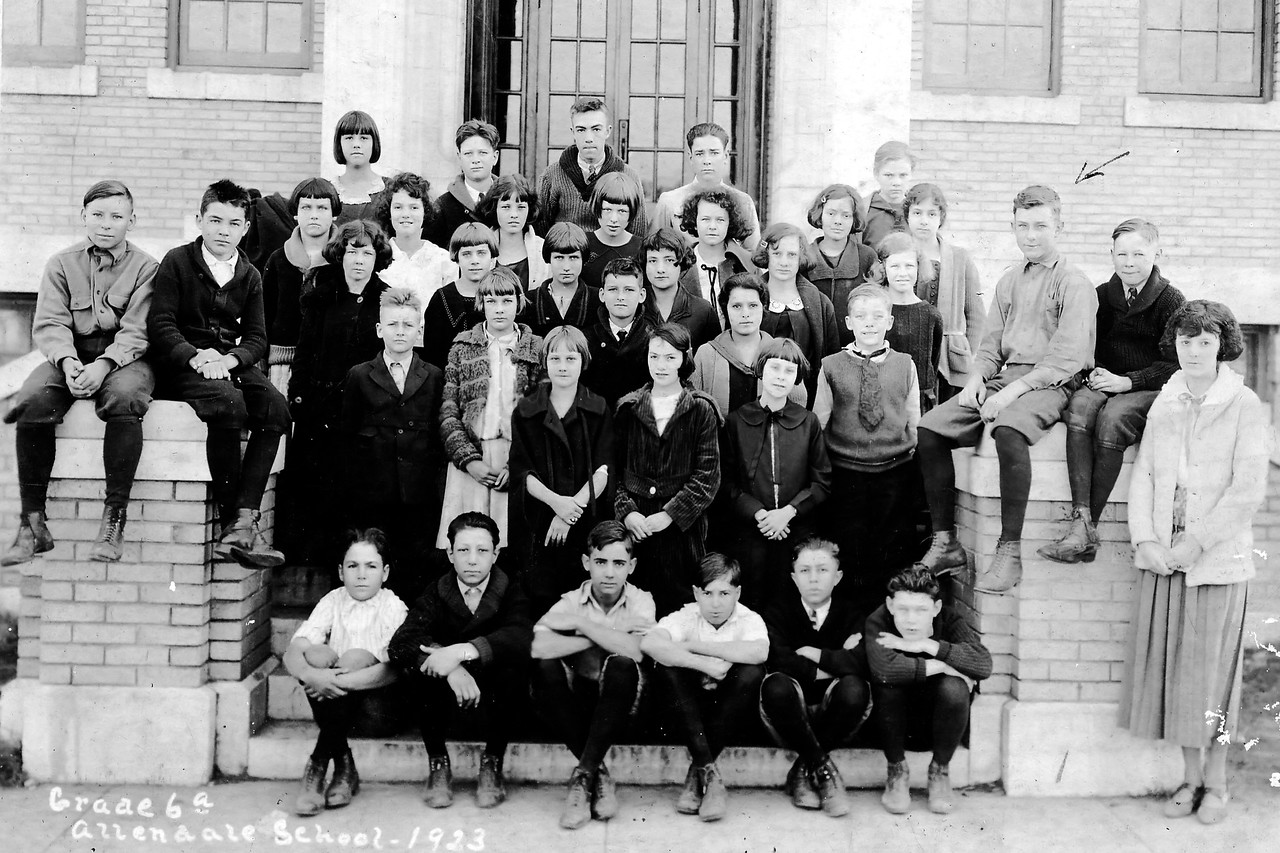 Byron Pipes, Later Grade School Class