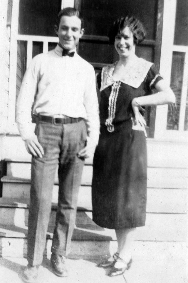 Byron and Friend Jessie Miller
