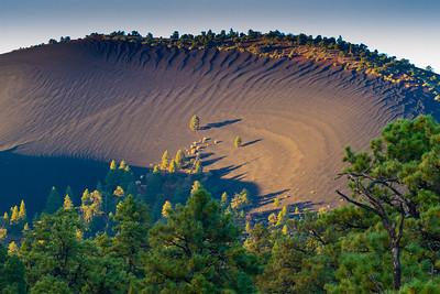 Volcano rim near Sunset Crater National Monument