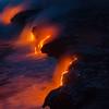 Lava by night