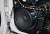 Stock speaker close up