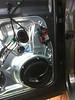 "Speaker adapter bracket   from  <a href=""http://www.car-speaker-adapters.com/items.php?id=SAK104""> Car-Speaker-Adapters.com</a>   mounted to door"