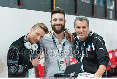 Stefano FISICO, (a sinistra)