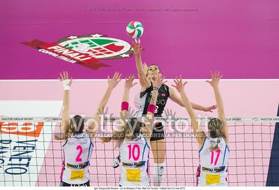 Francesca PICCININI, attacco contro muro, Alexandra Rose KLINEMAN, Cristina CHIRICHELLA, Katarina BARUN,