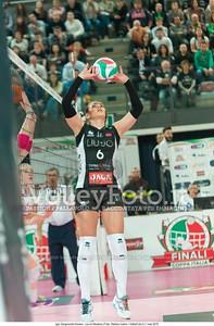 Francesca FERRETTI, palleggio