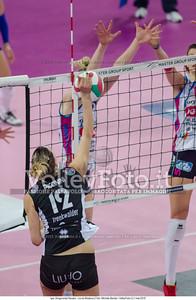 Francesca PICCININI, attacco contro muro, Igor Gorgonzola Novara