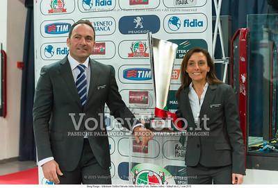 2º Arbitro Matteo TALENTO, 1º Arbitro Giorgia SPINNICCHIA
