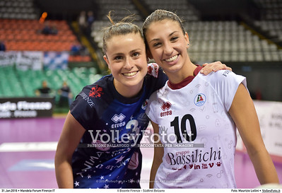 Il Bisonte Firenze - Südtirol Bolzano 18ª giornata Campionato Serie A1 Femminile 2015-16.  Mandela Forum Firenze 31.01.2016 FOTO: Maurizio Lollini © 2016 Volleyfoto.it, all rights reserved [id:20160131.DSC_2487]