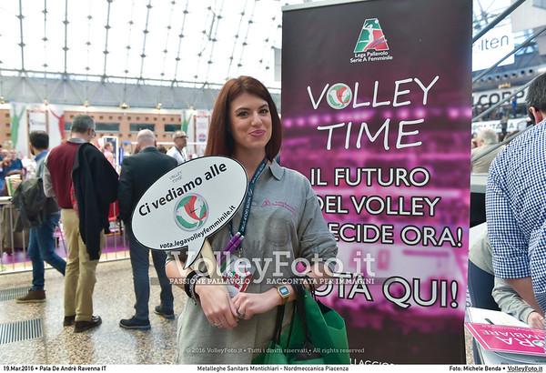 Metalleghe Sanitars Montichiari - Nordmeccanica Piacenza SemiFinale 38ª Coppa Italia 2016 Serie A1F.  Pala De Andrè Ravenna 19.03.2016 FOTO: Michele Benda © 2016 Volleyfoto.it, all rights reserved [id:20160319.MB2_4834]