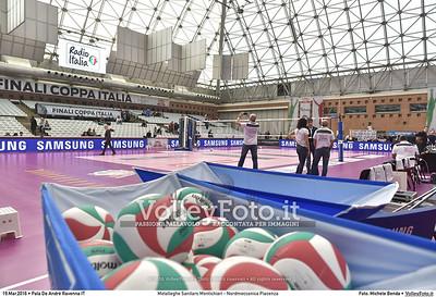 Metalleghe Sanitars Montichiari - Nordmeccanica Piacenza SemiFinale Coppa Italia 2016.  Pala De Andrè Ravenna 19.03.2016 FOTO: Michele Benda © 2016 Volleyfoto.it, all rights reserved [id:20160319.MB2_4812]