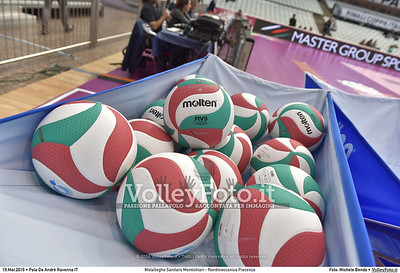 Metalleghe Sanitars Montichiari - Nordmeccanica Piacenza SemiFinale Coppa Italia 2016.  Pala De Andrè Ravenna 19.03.2016 FOTO: Michele Benda © 2016 Volleyfoto.it, all rights reserved [id:20160319.MB2_4810]
