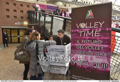 Metalleghe Sanitars Montichiari - Nordmeccanica Piacenza SemiFinale 38ª Coppa Italia 2016 Serie A1F.  Pala De Andrè Ravenna 19.03.2016 FOTO: Michele Benda © 2016 Volleyfoto.it, all rights reserved [id:20160319.MB2_4814]