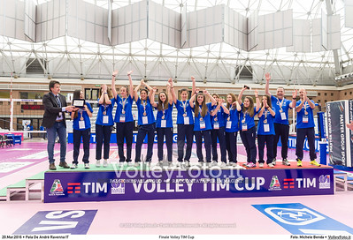 Finale Volley TIM Cup Pala De Andrè Ravenna 20.03.2016 FOTO: Michele Benda © 2016 Volleyfoto.it, all rights reserved [id:20160320._MBK8140]