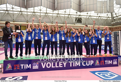 Finale Volley TIM Cup Pala De Andrè Ravenna 20.03.2016 FOTO: Maurizio Lollini © 2016 Volleyfoto.it, all rights reserved [id:20160320._LM07309]