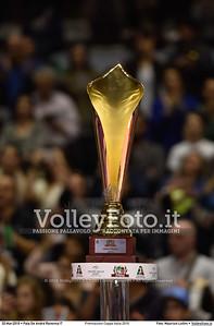 Premiazioni Coppa Italia 2016 Premiazioni Coppa Italia 2016.  Pala De Andrè Ravenna 20.03.2016. FOTO: Maurizio Lollini © 2016 Volleyfoto.it, all rights reserved [id:20160320._LM09676]